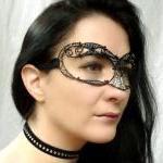 Black ladies masquerade mask